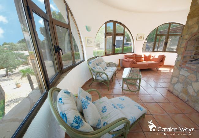 Cottage in Ampolla - VILLA LAMICELE